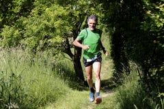 Motived runner. Stock Image