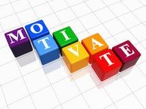 Motiveer in kleur 2 Royalty-vrije Stock Foto