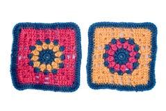 Motivi del Crochet fotografia stock libera da diritti