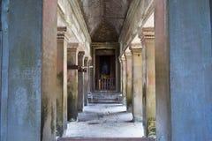 Motivi del tempio della Cambogia Fotografia Stock