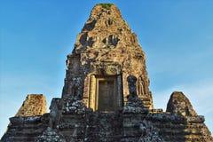 Motivi del tempio della Cambogia Fotografie Stock