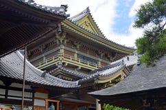 Motivi del tempio di Zenkoji, Nagano Giappone immagine stock libera da diritti