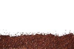 Motivi di caffè isolati Immagine Stock