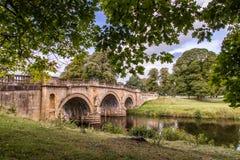Motivi di Derbyshire Peakdistrict della Camera di Chatsworth Fotografia Stock Libera da Diritti