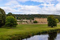 Motivi di Derbyshire Peakdistrict della Camera di Chatsworth Immagine Stock