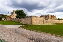 Motivi di Derbyshire Peakdistrict della Camera di Chatsworth Immagini Stock Libere da Diritti