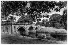 Motivi di Derbyshire Peakdistrict della Camera di Chatsworth Fotografie Stock Libere da Diritti