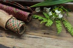 Motivi tradizionali di Kerawang Gayo Fotografia Stock