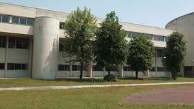 Motivi vuoti dell'istituto universitario di Liceo Omodeo, Mortara PV Italia video d archivio
