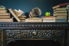 Motivieren Sie Ihr Kind, um ein langweiliges Thema zu studieren Stockbilder