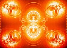 Motivo anaranjado Fotos de archivo