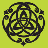 Motivo celta do nó ilustração royalty free
