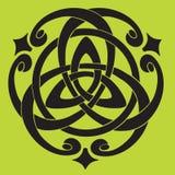 Motivo celta do nó Fotografia de Stock Royalty Free