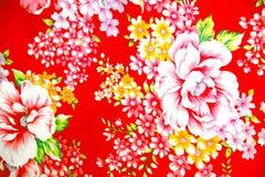Motivo colorido do algodão Fotografia de Stock