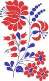 Motivo colorido do flourish Fotografia de Stock Royalty Free