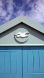 Motivo da gaivota na cabana Fotografia de Stock Royalty Free
