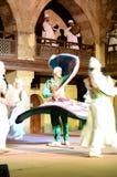 Motivo da porta do barqoq da sultão em Egito imagem de stock royalty free
