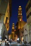 Motivo da porta do barqoq da sultão em Egito fotos de stock royalty free