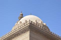 Motivo da porta do barqoq da sultão em Egito Foto de Stock