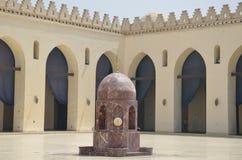 Motivo da porta do barqoq da sultão em Egito fotos de stock