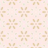Motivo Daisy Style Seamless Vetora Pattern da flor da mola M?o tirada por todo o lado na textura floral ilustração do vetor
