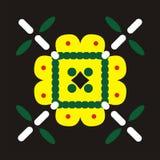 Motivo del batik Fotos de archivo libres de regalías