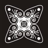 Motivo del batik Foto de archivo