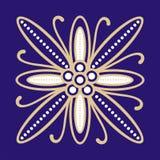 Motivo del batik Imágenes de archivo libres de regalías