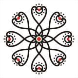 Motivo del batik Fotografía de archivo libre de regalías