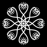 Motivo del batik Imagen de archivo libre de regalías