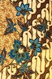 Motivo del batik Immagini Stock