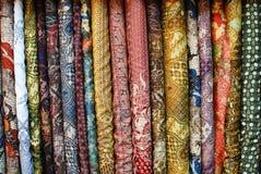 Motivo del batik Fotografie Stock