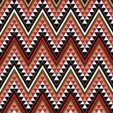 Motivo etnico come parte del reticolo africano illustrazione di stock