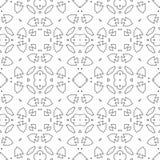 Motivo retro da telha marroquina ilustração royalty free