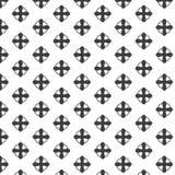 Motivo a stelle con Grey Color Immagine Stock