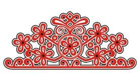 Motivo ungherese autentico Illustrazione Vettoriale