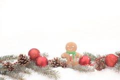 Motivos de la Navidad Fotos de archivo