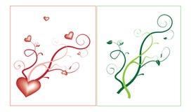 Motivos decorativos Imagem de Stock