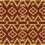 Motivos decorativos del nativo americano Imagenes de archivo