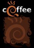 Motivos do café Fotografia de Stock Royalty Free