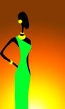Motivos dos africanos Fotos de Stock Royalty Free