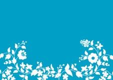 Motivos en azul claro Imagenes de archivo