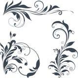 Motivos ornamentado Imagens de Stock