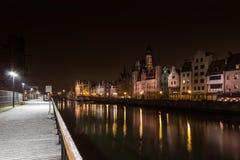 Motlawa Gdansk Royalty Free Stock Photos