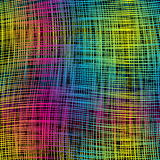 Motley abstract background. Multicolored strips are located chaotically Royalty Free Stock Image