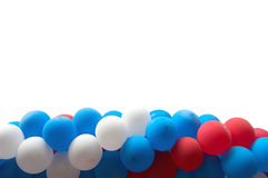 Motley Balloons Stock Photography