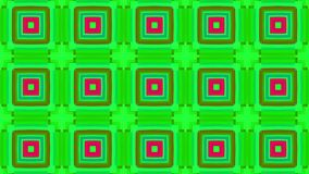 Motley colorful abstract squares for music video. Animated Computer Design stock video footage