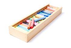 Motley crayons Royalty Free Stock Image