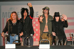 Motley Crue Royalty Free Stock Images