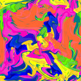 Motley paint blobs. Motley blobs of different paints royalty free illustration